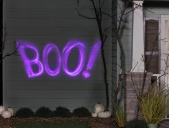 This Lightshow Projection of Boo is ONLY Five Bucks!