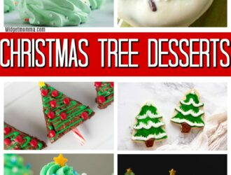 Christmas Tree Desserts