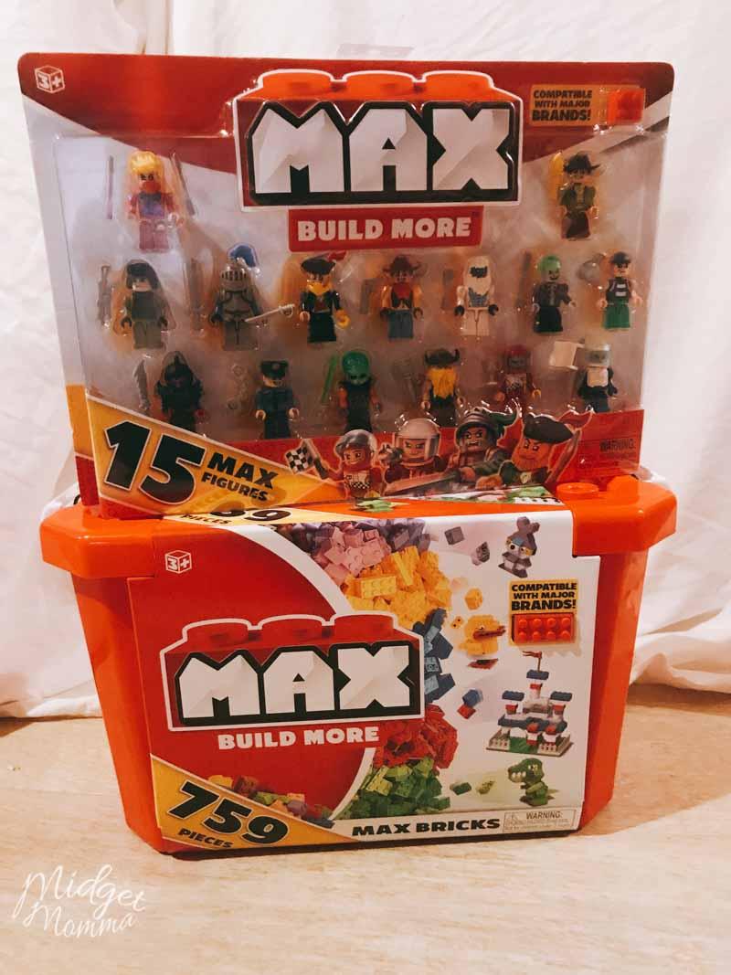 Gift Ideas for Christmas for tween boys - Max Build Blocks