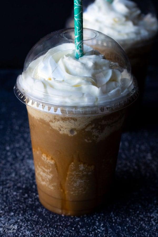 Keto Salted Caramel Frappuccino Midgetmomma