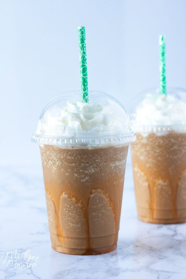 Sugar Free Caramel Frappuccino