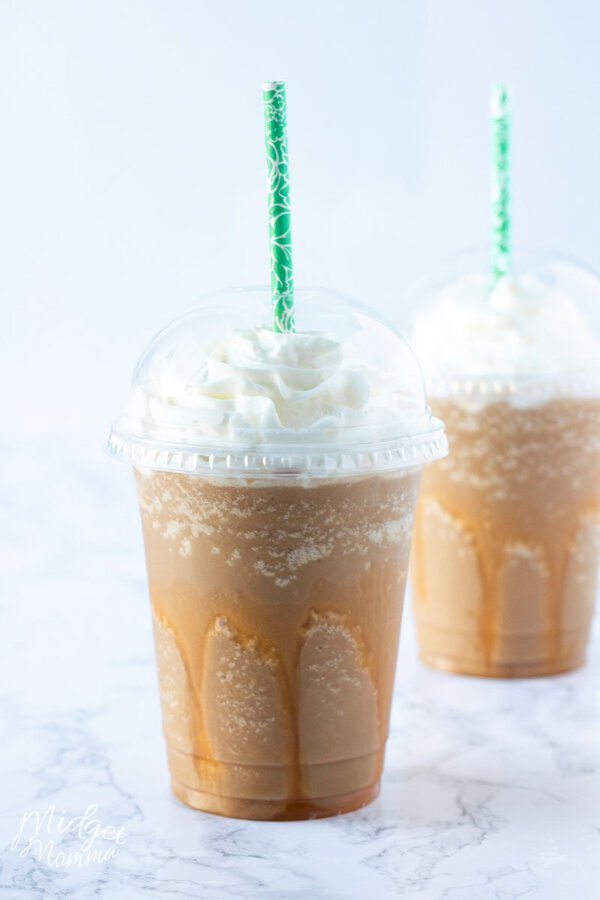Low Carb Sugar Free Caramel Frappuccino