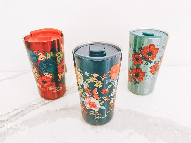 Pioneer woman coffee tumblers