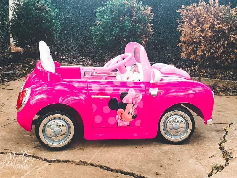Minnie Mouse kids ride on walmart exclusive