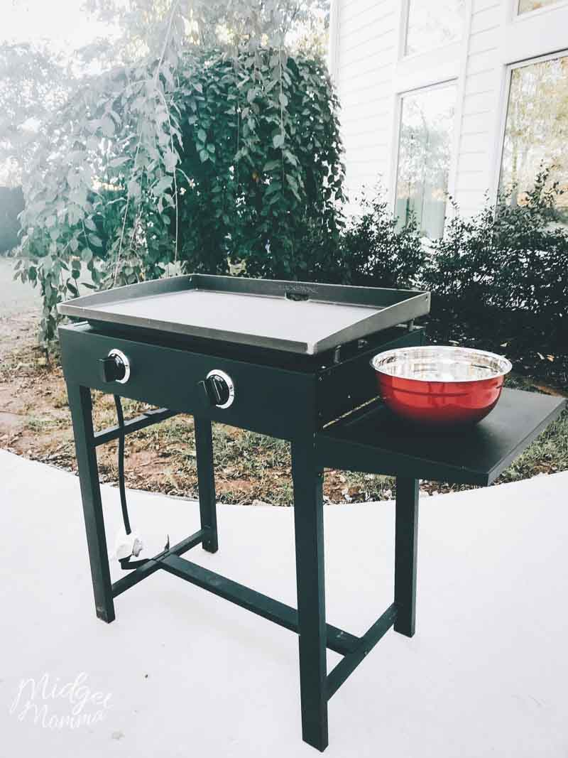 Backyard Griddle