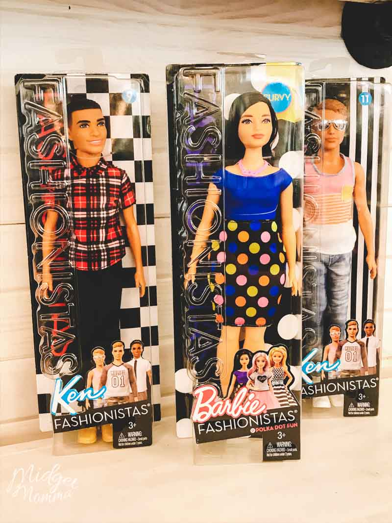 Walmart Barbie Fashionista dolls