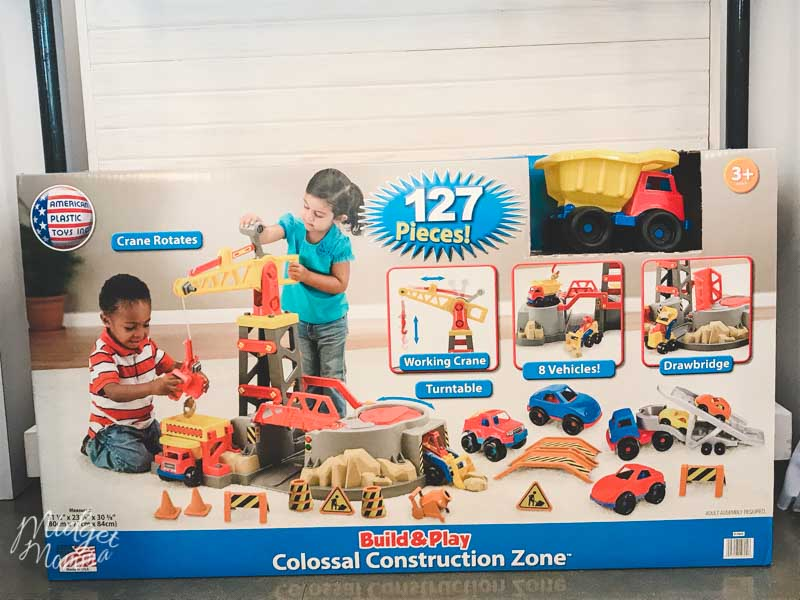 Walmart construction set