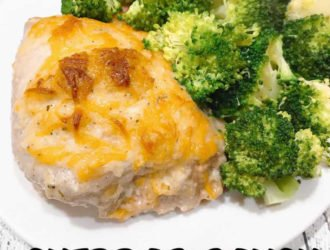 This Cheddar Ranch Chicken is a quick baked chicken recipe that is done in about 30 minutes. Make some veggies or a fresh salad to go along with your Cheddar Ranch Chicken and dinner is done!