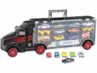 Perfect for Under the Tree! Kid Connection™ Big Rig Carrying Case 22 pc Box $17.48 (was $38.68)