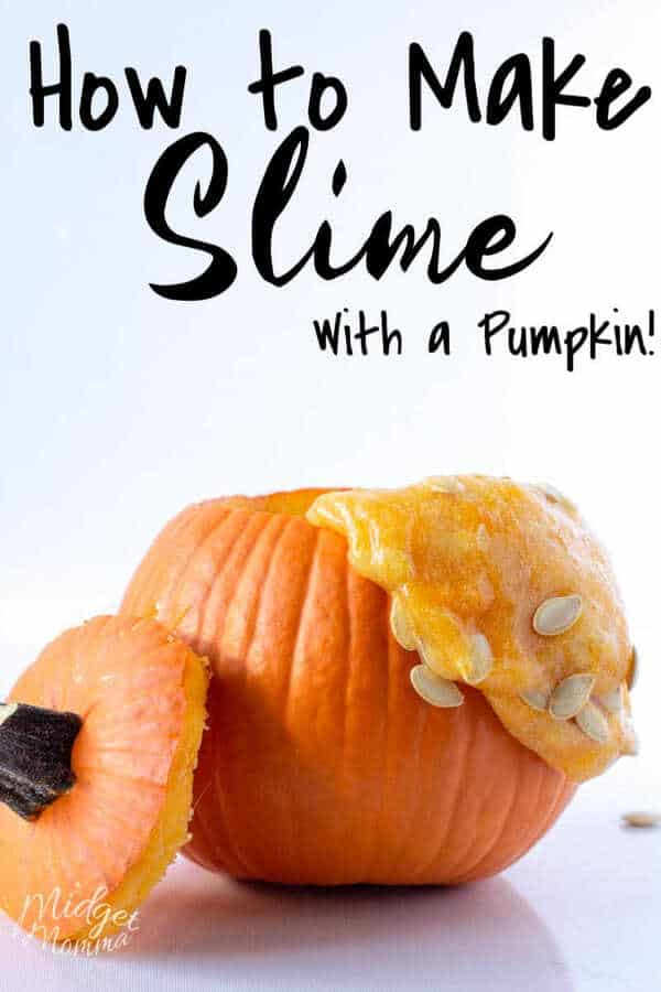 how to make slime with a pumpkin