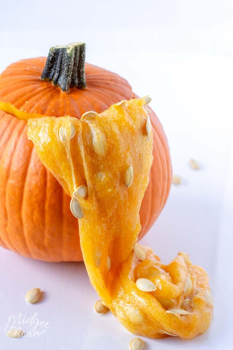 stetchy pumpkin slime