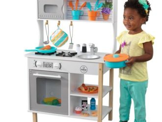 Hey Santa Check this Out!  Rollback KidKraft All Time Play Kitchen and Accessories $60 + Free Shipping!