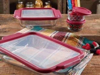 Rollback Alert!  The Pioneer Woman Flea Market 8-Piece Glass Bake Set under $20!