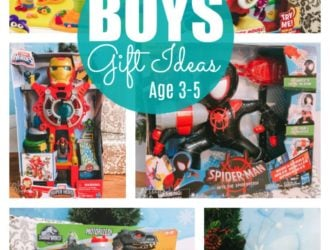 Gift Ideas for Little Boys Ages 3-5!