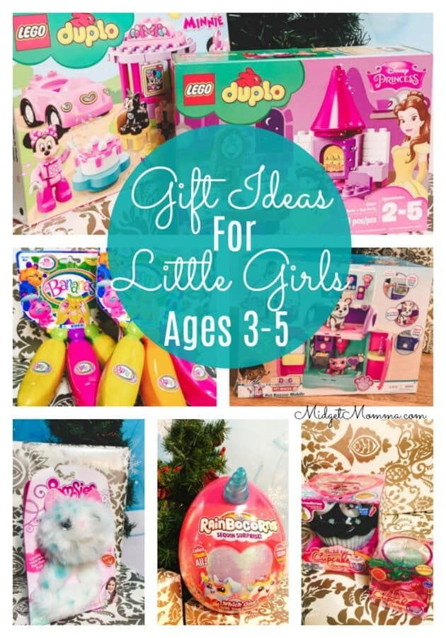 Gift Ideas for LIttle girls ages 3-5