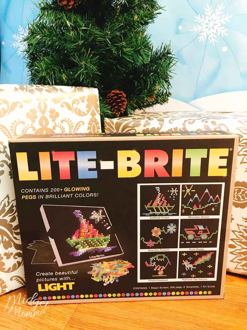 Christmas gifts for girls - lite-brite