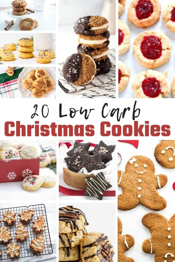 Low Carb Christmas Cookies