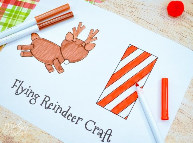Reindeer Paper craft supplies