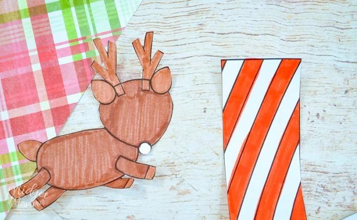 Reindeer Paper craft