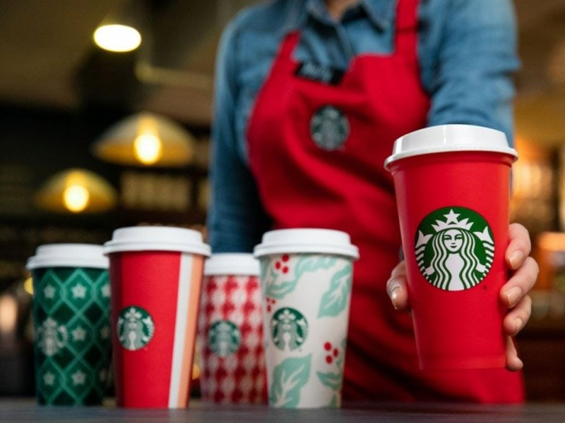 Starbucks free holiday cup