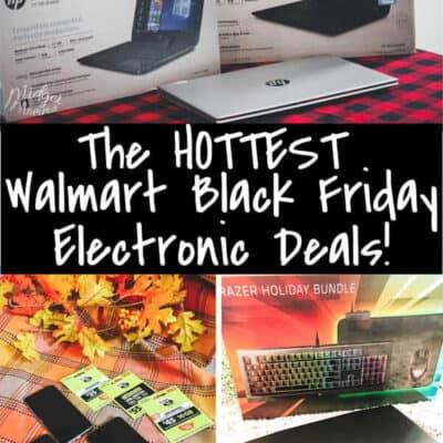 Walmart Black Friday Electronic Deals