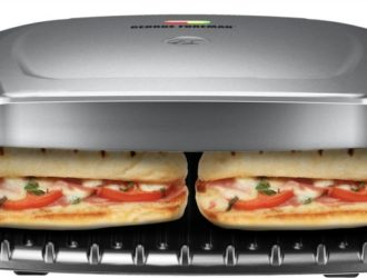Hot Rollback!  George Foreman 9-Serving Indoor Grill and Panini Press, ONLY $19.99 (was $52)!