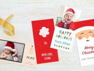 Score a set of 10 Free Personalized Gift Tags!  These are so Cute!