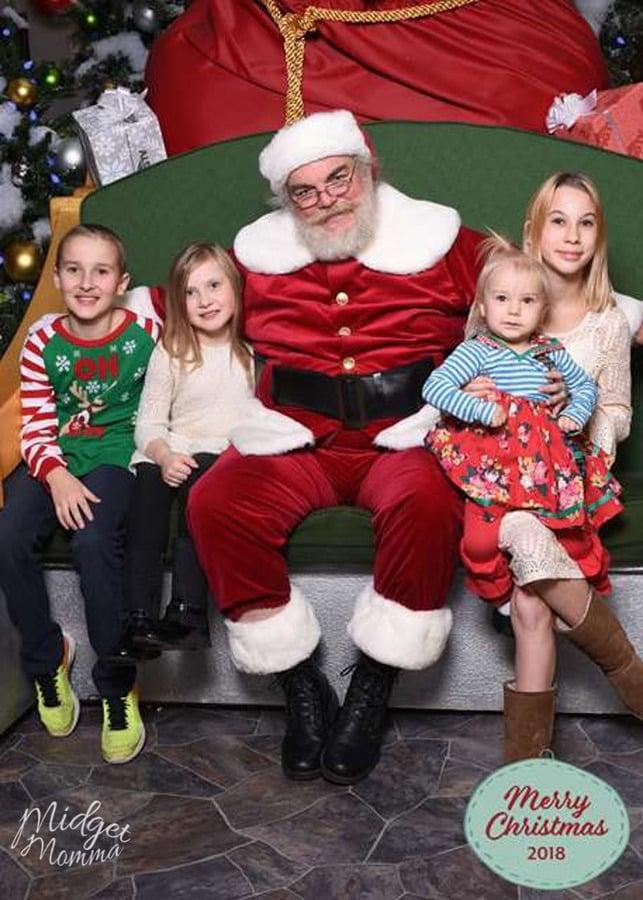Santa HQ Santa Photo