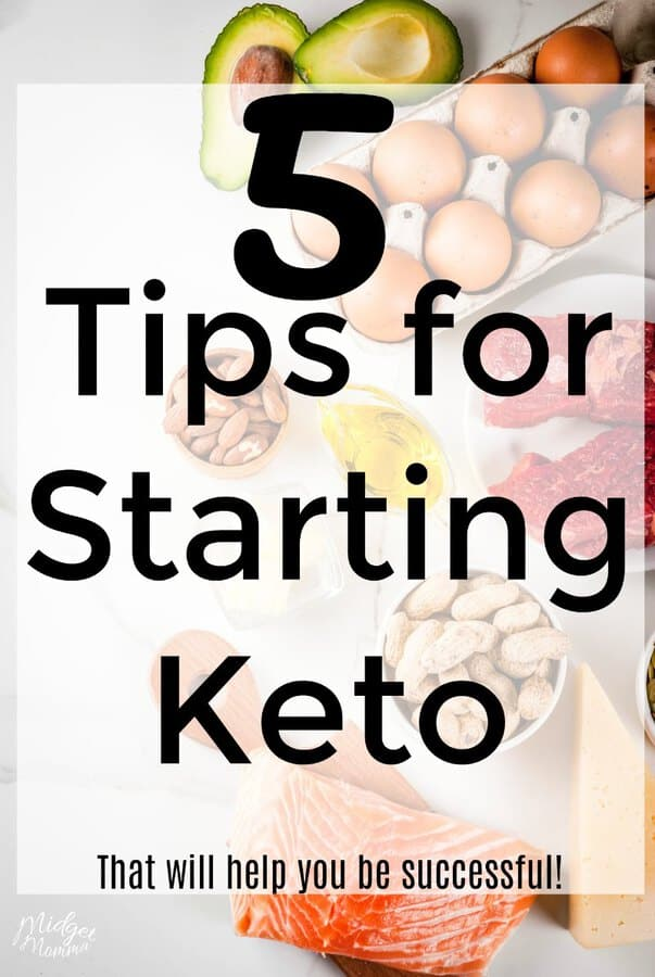 Tips for starting keto