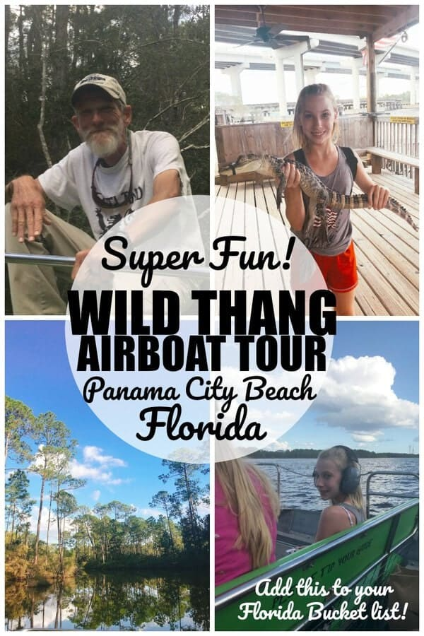 Airboat Tour in panama city beach florida