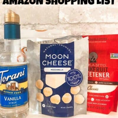 Amazon keto shopping list