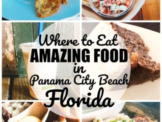 If you are looking for where to eat amazing food in Panama City Beach Florida then this is the list for you! There are amazing Panama City Beach Restaurants with AMAZING food that you are sure to love no matter what type of food you enjoy, for breakfast, lunch and dinner! #PanamaCityBeach #PCB #Travel #Florida #Food
