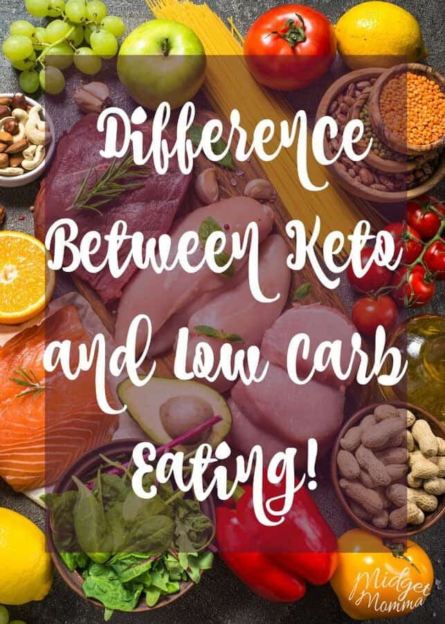 Difference between Keto and Low Carb