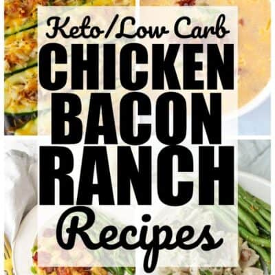 keto chicken bacon ranch recipes 111