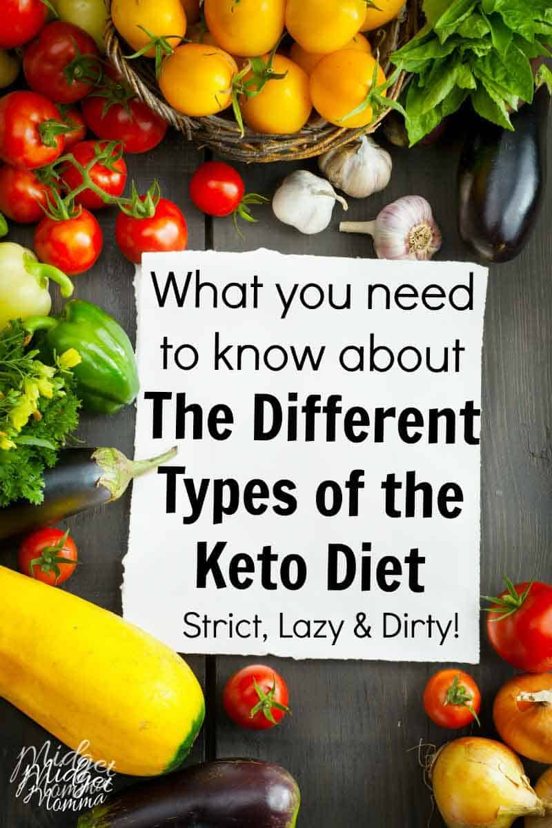 Different types of Keto