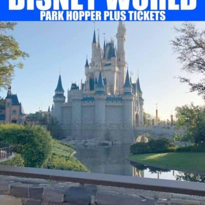Disney Park Hopper Plus Tickets
