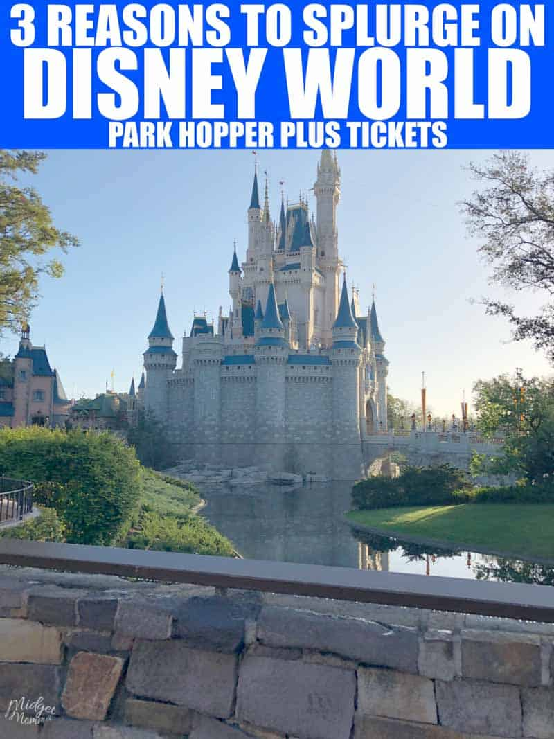 Disney Park Hopper Plus