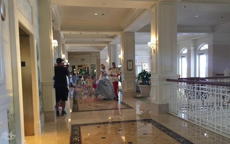 Cinderella at Grand Floridian