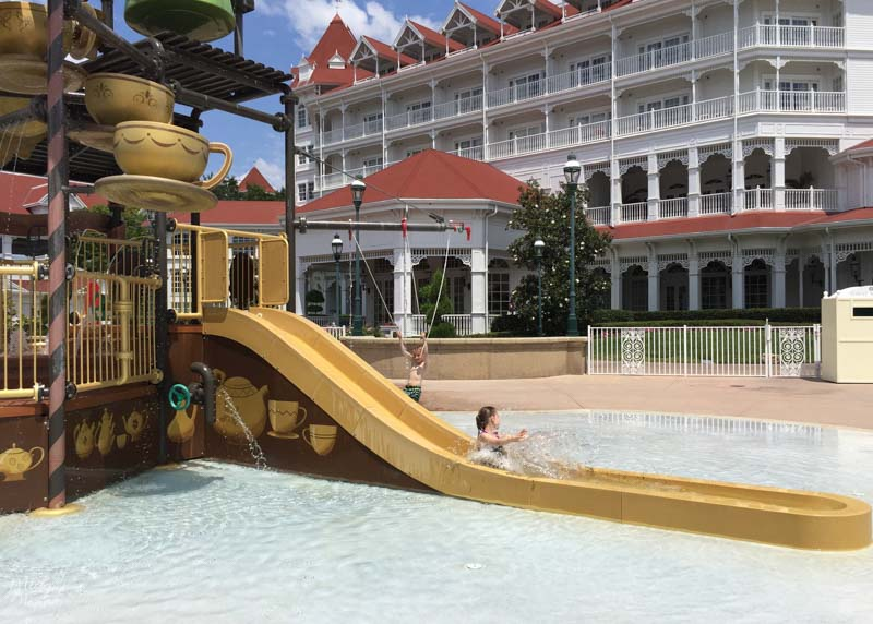 Grand Floridian waterpark