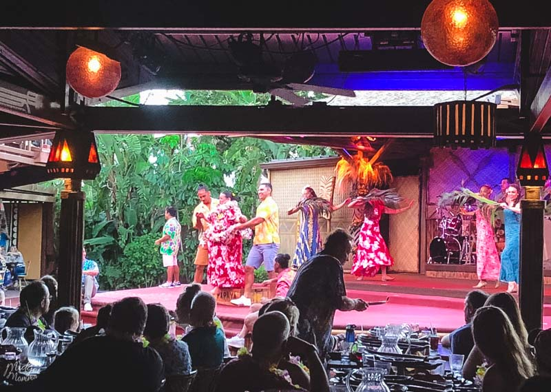 Disney World Spirit of Aloha Dinner Show