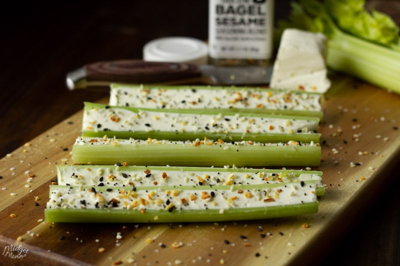 Everything Bagel Celery
