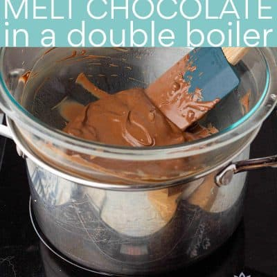How to Melt Chocolate in a Double Boiler