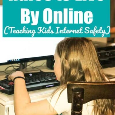 Internet Safety Rules for Kids