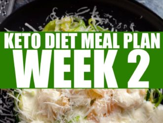 Keto Diet Meal Plan Week 2