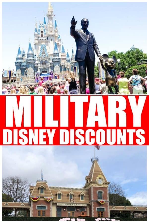 2020 Disney Military Discount! Save on Disney World ...
