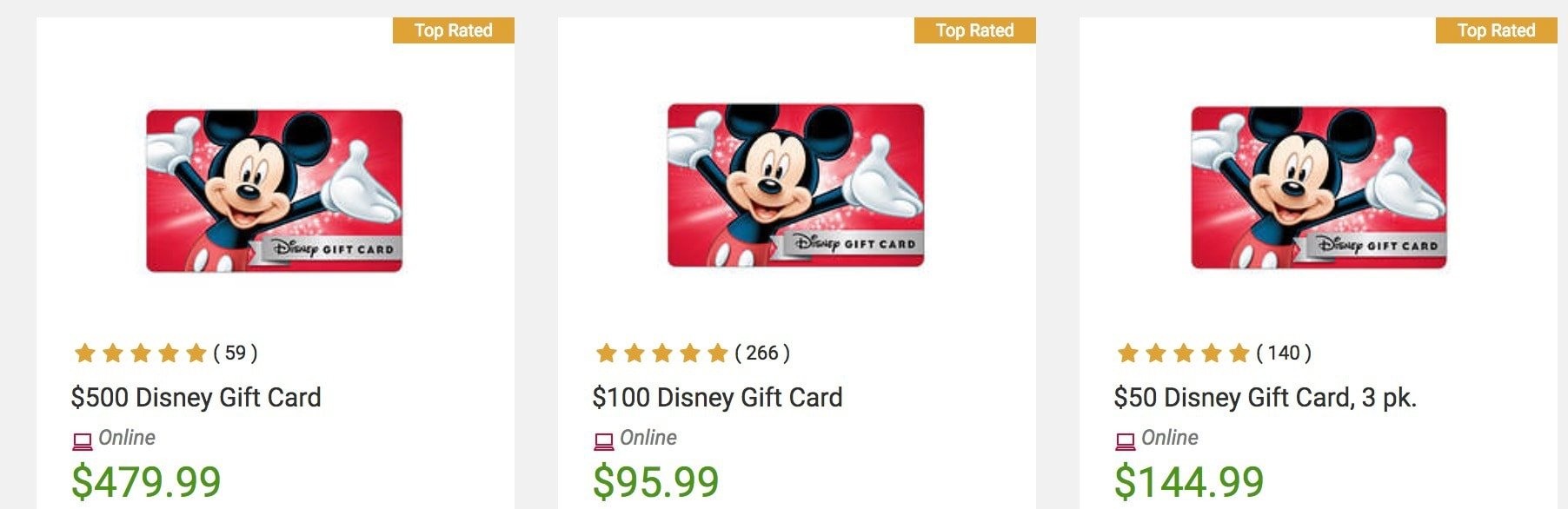 Bj's Discount Disney Gift Card