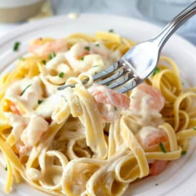 Shrimp Alfredo Recipe