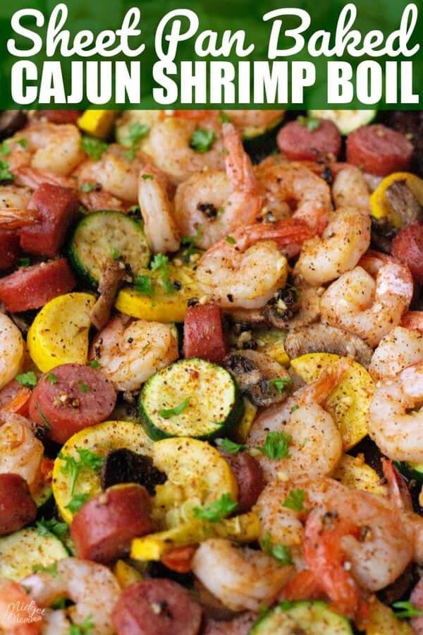Sheet Pan Cajun Shrimp Boil With Sausage Amp Veggies Recipe
