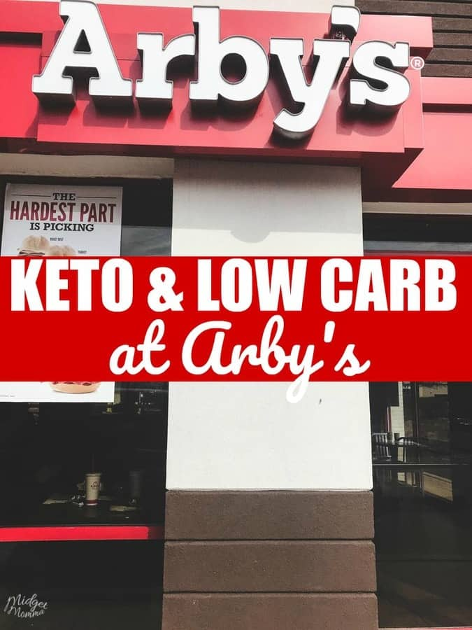 Arby's Low Carb and Keto Food