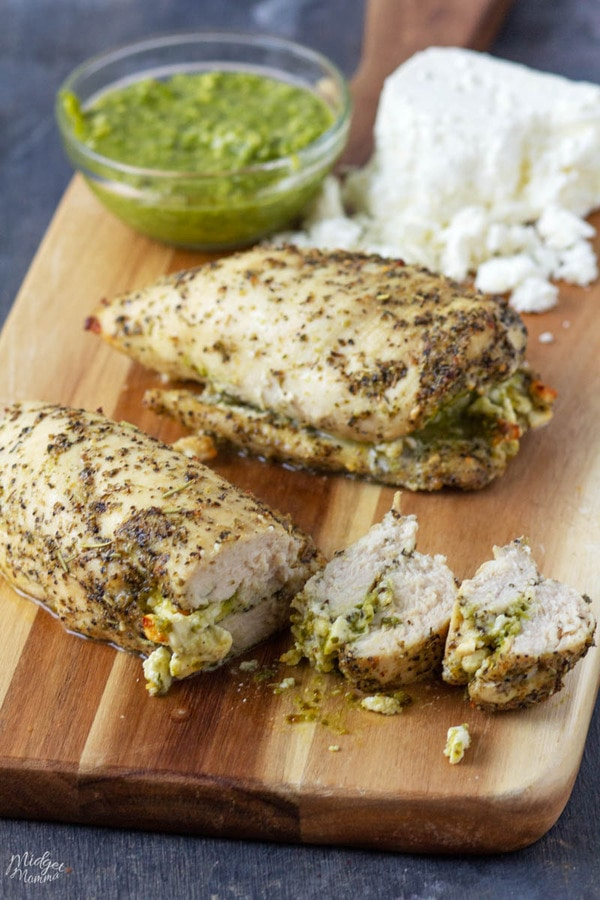 feta stuffed chicken breasts